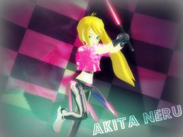 [MMD] My Cyber Neru (DL?) by Party-P