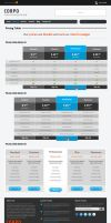 Corpo PricingTable - Corporate Template by colourdrift