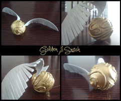 Golden Snitch by Feyon