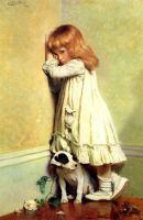 Charles Burton Barber  In disgrace by DiverVicky