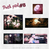 Pack PSD #8 by Kouhen