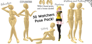 50 Watcher Gift - Pose Pack 2 (DL)! by Neverlia