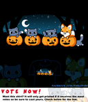Woot Shirt - The Halloween Fox by fablefire