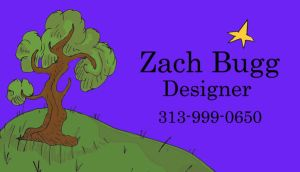 Zach Bugg Business Card by antiflag8789