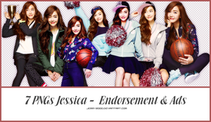 [Render Pack] Jessica - Endorsement x Ads - 7 PNGs by jemmy2000