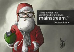 Christmas card 2011 by TheArtrix