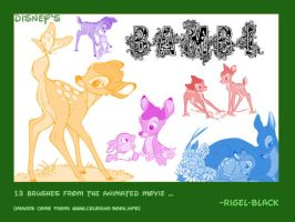 Bambi Set by Rigel-Black
