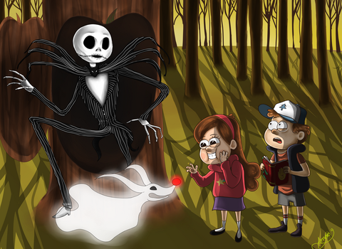 Nightmare in Gravity Falls by Icelandic-catlover