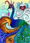 Peacock - color by vivsters