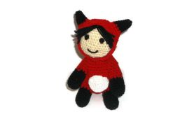Doll fox amigurumi by ShadowOrder7