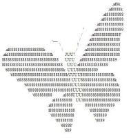Amys first ascii thingy by Lady-Blue