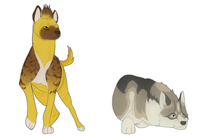 Flat Colored PCMS by Whitelupine