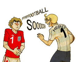 England Vs Amurika by Cabout
