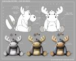 Come Along Critters - Stan The Moose - 2 by joelduggan