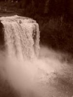 Snoqualmie Falls by MidNight-Shadow13