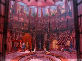 ABRAXAS: Market Square by painted-bees