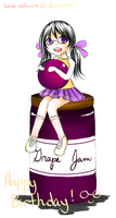 Grape Jam by hana-sakurano