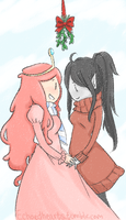 Winter Holiday Peebles and Marcy by EchoHearts