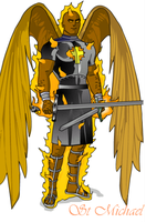 The Archangel St Michael by Ultramanzeta