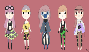 Toxic/Steampunk Adopts 50 POINTS EACH{open} by Abis-Adoptables