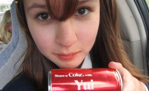 Share a Coke with Yui Hirasawa ! by Madi-Gascarr
