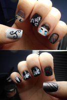 Sterek Nails by Ebony-Rose13