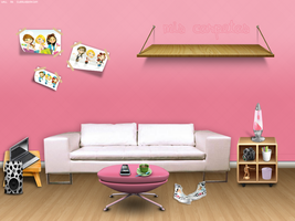 Wall Room by Mee! by clubbloggeras