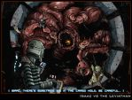 Isaac vs the Leviathan by CitizenWolfie