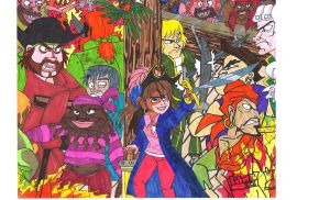 The Pagemaster PIRATES by Dream-Angel-Artista