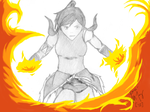 Into the Flames by hyoris