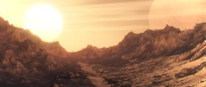 Sunrise on the planet known by Aleutxxx