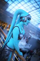 Twilek dancer by emilyrosa
