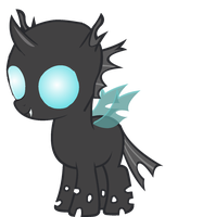 Filly Changeling by asdflove