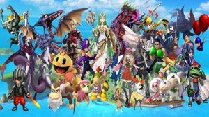 Super Smash Bros Wii U and 3DS NewComers by DarkManGc