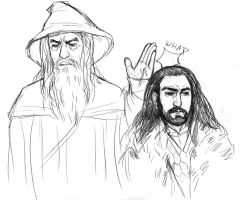A summary of The Hobbit by caffeinetooth