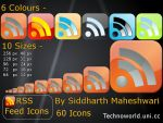 RSS Feed Icons for Websites by SiddharthMaheshwari