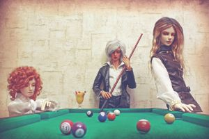 Pool by SillyMysteriousWoman