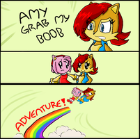 Grab My - Amy and Sally by CuteCosmo