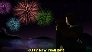 Happy New Year 2015 by pokemonlover5673