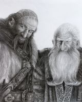 Dwalin and Balin by FrerinHagsolb