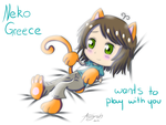 Kitty Greece by Amy-Oh