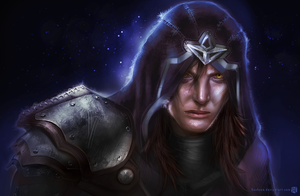 Talon realistic portrait by Kashuse
