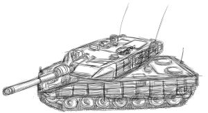Leopard 2 2A6M CAN by NDTwoFives
