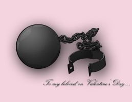 Ball 'n Chain Card by MichelleSix