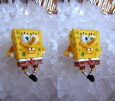 Stereograph - Spongebob Chillin' by alanbecker