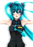 Hatsune Miku by WeirdCircus9