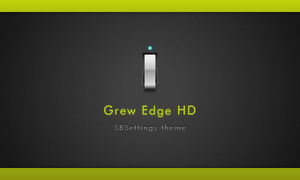 GrewEdge HD SBSettings theme. by TPclippers