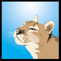 Puma by suphoto vectorized by Rivetheart