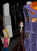 Tim Burton's Doctor Who: Oops by 2138