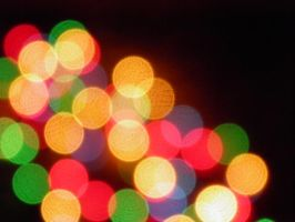 Colorful bokeh 1 by shadrina-v